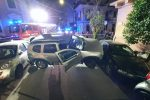 Messina, incidente in via Felice Bisazza. Carambola tra auto, due feriti