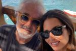Dopo Ben Affleck e Jennifer Lopez, a Capri un ritorno di fiamma tra Flavio Briatore ed Elisabetta Gregoraci?