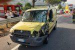 Fiumefreddo Bruzio, scontro auto-moto: centauro 25enne perde la vita