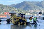 Esondato il lago di Como, strade e piazze allagate e invase dai detriti - FOTO