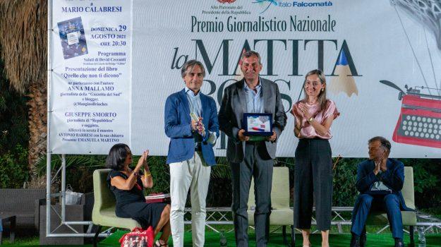 """Reggio: """"La matita rossa e blu"""" a Mario Calabresi, nel segno di Italo Falcomatà"""