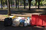 Cosenza, Il giallo delle panchine sparite dai viali dal Parco Morrone FOTO