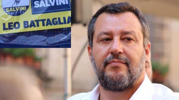 mascherine lanciate, trebisacce, villapiana, Leo Battaglia, Matteo Salvini, Cosenza, Cronaca