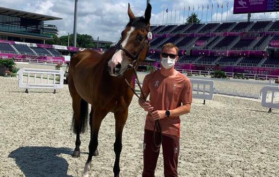 cavallo abbattuto, equitazione, olimpiadi, tokyo, Robin Godel, Sicilia, Tokyo 2020