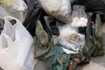 Giarre, centrale di spaccio nel cimitero di Giarre: sequestrati 71 chili di droga