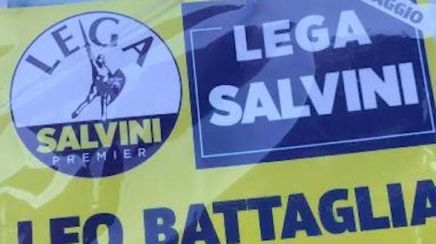lega, mascherine, trebisacce, villapiana, Leo Battaglia, Matteo Salvini, Cosenza, Cronaca