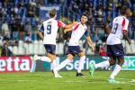 """Cosenza, notte fonda al """"Rigamonti"""": il Brescia vince 5-1"""