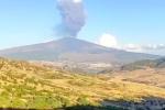 Etna e la pioggia di cenere IL VIDEO