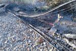 Incendio divampa sulla linea ferroviaria tra Gizzeria e Lamezia: traffico rallentato