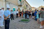 Rometta, il Comune rende omaggio al compianto sottufficiale Aurelio Vissalli FOTO