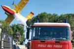 Incendi, dura poco la tregua a Messina e nella provincia: 15 squadre di vigili in azione