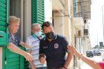 Messina: Matteo Salvini rende onore ai vigili del fuoco