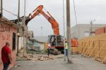 Messina, avviato lo sbaraccamento: ruspe in azione a Fondo Saccà FOTO   VIDEO