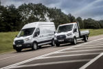 Ford E-Transit debutta sulle strade europee con prove su strada