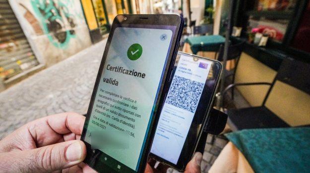 green pass, messina, trasporti, Sicilia, Cronaca