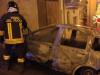 Incendiata auto a Lamezia, panico tra i residenti della zona
