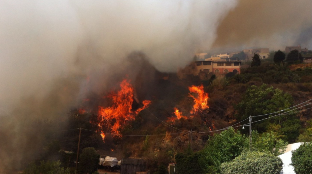 eolie, incendio, lipari, solidarietà, Messina, Cronaca