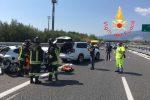 Calabria funestata dagli incidenti. Frontale sull'A2 tra Lamezia e Pizzo: un ferito grave
