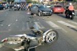 Scontro auto-scooter a Messina: una donna perde un dito