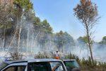 Isola Capo Rizzuto assediata dagli incendi. Particolarmente colpita la zona Ritani