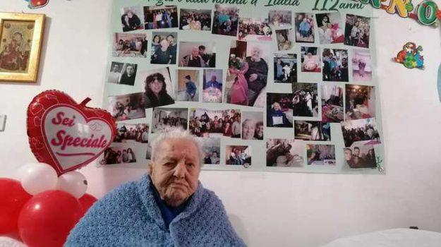 112 anni, nonna maria, piazza armerina, maria oliva, Sicilia, Società