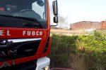 Partanna: dà fuoco a sterpaglie e va al bar, denunciato un 58enne