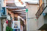 Percorso artistico a Dasà realizzato con materiali di riciclo