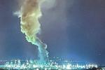 Colonna di fumo dalla raffineria di Milazzo, allarmati i residenti della Valle del Mela - FOTO
