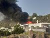Fiamme all'hotel Raya di Panarea, l'incendio nella terrazza dei vip - FOTO
