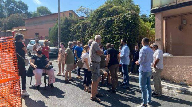 carenza acqua, protesta residenti, reggio calabria, Reggio, Cronaca