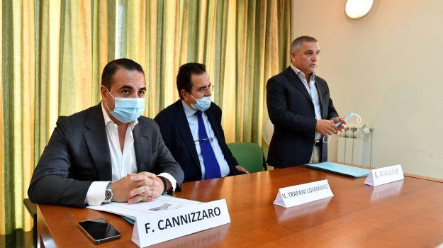 hospice reggio, nuovi fondi, Francesco Cannizzaro, Giovanni Arruzzolo, Vincenzo Trapani Lombardo, Reggio, Cronaca