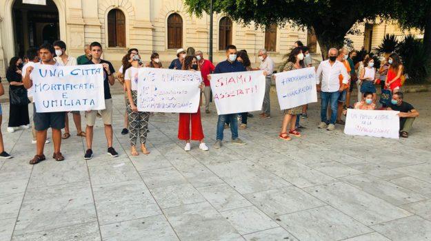 crisi idrica, protesta, reggio calabria, Saverio Pazzano, Reggio, Cronaca