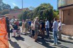 La protesta dei cittadini del Comitato Eremo di Reggio Calabria