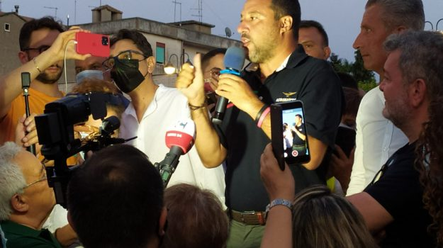 elezioni regionali calabria, Matteo Salvini, Calabria, Cronaca