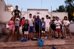 Reggio, giovani volontari hanno ripulito Gallina