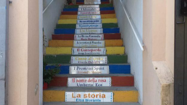 inaugurazione, scala letteraria, tropea, Catanzaro, Cultura