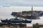 Messina, in servizio la nuova nave Sikania: presto solcherà lo Stretto h24- FOTO