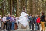 Il monumento a Natuzza Evolo nel cuore del Parco della Sila