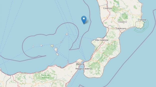 cosenza, mar tirreno, terremoto, Cosenza, Cronaca