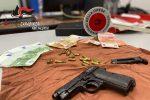 Pistola e munizioni nascoste in auto, uomo arrestato a Vibo VIDEO