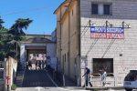 L'ingresso del pronto soccorso dell'ospedale di Vibo Valentia