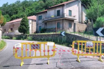 Ancora chiusa la Sp1 di Reggio che porta allo Zomaro