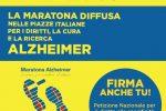 Domani è la Giornata Mondiale dell'Alzheimer: a Messina gazebo a piazza Cairoli