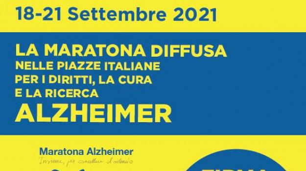 alzheimer, giornata mondiale, Maratona Diffusa, messina, Messina, Cronaca