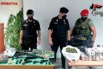 Armi, ricettazione e spaccio di droga: padre e due figli arrestati a Bianco