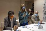 Bianca Rende con Carlo Tansi e Massimo Misiti