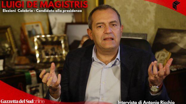 """De Magistris: """"Libererò la Calabria battendo trasversalismi e borghesia mafiosa"""" - INTERVISTA"""