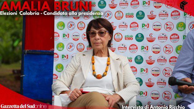 """Elezioni Calabria, Amalia Bruni: """"Sono la candidata di un'ampia coalizione"""" L'INTERVISTA"""