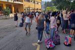 Cosenza, l'emozione del primo giorno di scuola: si respira un clima di normalità