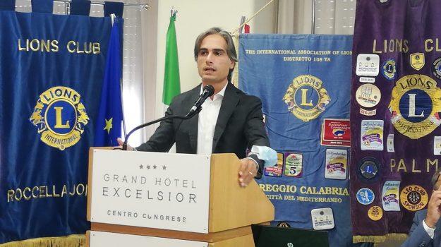 """Reggio: Falcomatà al raduno Lions 108: """"Consolidare unione fra istituzioni, associazioni e club service"""""""